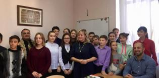 Open Lesson at Kyiv Gymnasium of Oriental Languages