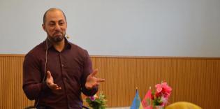 Духовный пример Пророка, история и настоящее Иерусалима: семинар Тарика Сахана в Запорожье