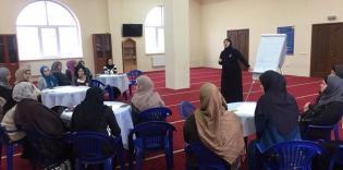 Для новичков и постоянных активисток: тренинг по командной работе для волонтерок ЖО «Марьям»