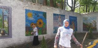 Мусульмане и христиане: плодотворное сотрудничество на субботнике в Харьковском госпитале