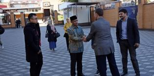 Ukrainian and Indonesian Muslims will cooperate more closely