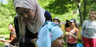 Вінницькі мусульманки взяли участь у пікніку для тих, хто переборює онкологію
