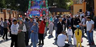 """مع """"الرائد"""" في عيد الفطر.. مسلمو أوكرانيون.. وحدة وسعادة ومساواة"""