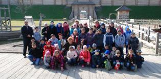 Первая экскурсия учеников гимназии «Наше Будущее»: парк «Киевская Русь»