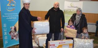 «Теплая помощь-2017» от Muslimehelfen: все комплекты розданы!