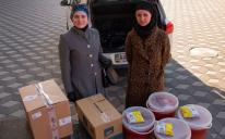 Домашние вареники и борщ для защитников Украины