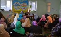"Self-improvement through self-education and in-depth understanding of personal motives: training seminar for female activists from ""Alraid"""