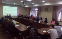 Вместо домашней работы — «Работа над собой»: семинар-тренинг для учеников гимназии «Наше будущее»