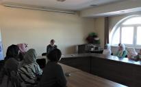 Встреча с поэтессой Викторией АбуКадум в ИКЦ Киева