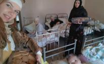 Одесские мусульманки проведали пациенток психиатрического отделения