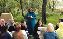 Мусульманки влаштували пікнік на Хортиці