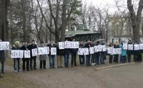 """""""February 23: a day of mourning for Crimea"""": flash mob in memory of Noman Chelebijihan"""