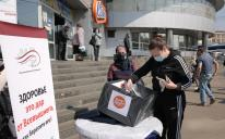 У Києві мусульмани роздавали безплатні багаторазові маски