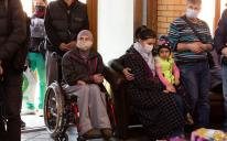 В ІКЦ Києва знову роздавали продукти нужденним сім'ям