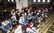 """إحياء ذكرى المولد النبوي الشريف مع """"أطفال المسلمين"""" في مدينة خاركيف"""