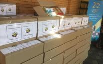 300 продуктових наборів від Посольства Катару та ІКЦ Києва — для нужденних та мешканців хоспісу