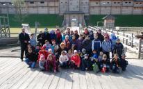 Перша екскурсія учнів гімназії «Наше Майбутнє»: парк «Київська Русь»