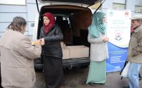 The Muslim women of Dnipropetrovsk fed several dozens of the poor