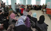 International women's conference in form of talk show: impressing visitors of the Islamic Cultural Center in Kiev