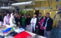 """Волонтеры общественной организации """"Аль-Масар"""" уже третий раз посещают цех для незрячих"""