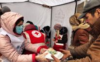 Zaporizhzhia Muslims Feed Homeless Along With Red Cross