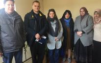 Інспектори ОБСЄ в ІКЦ Запоріжжя цікавилися проблемами етнічних, релігійних меншин та вимушених переселенців