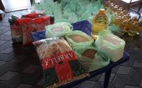 A Hundred Grocery Packs for Poor Kyiv Muslims