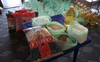Сотня продуктовых наборов для малообеспеченных мусульман Киева