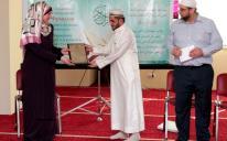 """في مركز """"الرائد"""".. """"إيمان"""" أول أوكرانية تسلم وتحفظ القرآن"""