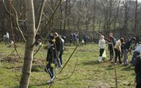 В Днепропетровске мусульмане, христиане и иудеи заложили парк на месте бывшей свалки, работая бок-о-бок
