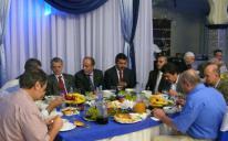 الرائد يقيم مأدبة إفطار رمضاني لممثلي السفارات والبعثات والمؤسسات التترية