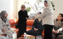 الرائد يكرم ويودع سفيرة إندونيسيا لدى أوكرانيا
