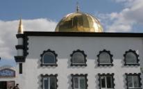"""مراحل بناء الاتحاد لمسجد """"كونستانتينوفكا"""" في شرق أوكرانيا"""