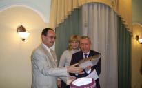 "Donetsk Mayor Awarded ""Al-Amal"" Organization for Active Participation of the Development of Ukrainian Society in the Region"