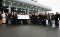 190 حاجا من أوكرانيا يصعدون جبل عرفات في مكة المكرمة
