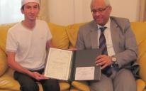 Первый хафиз из Украины вошел в десятку победителей в своей номинации на всемирном конкурсе по Корану