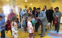 Активисты «Аль-Масар» не оставили одесских сирот без внимания в день защиты детей