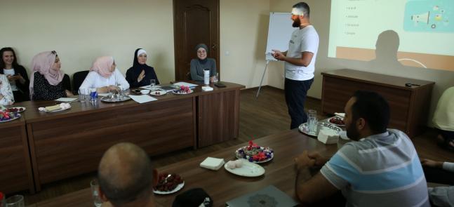 FEMYSO проводить дводенний тренінг з організації заходів та продуктивності для волонтерів «Альраід»