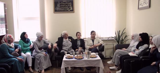 """Unless you have consciousness, you stand nowhere"": Munira Subašić, Dima Moussa and Nalan Dal at Kyiv ICC"