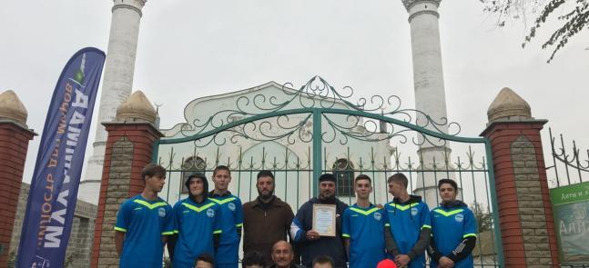 Ассоциация «Альраид» на сердцах юных футболистов Новоалексеевки