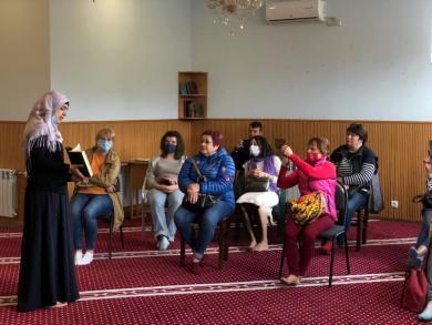 Ослабление карантина: первые гости запорожского ИКЦ