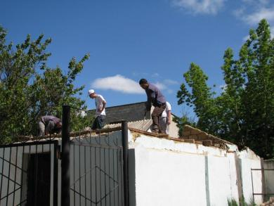 Gvardeyskoye Town Mosque Titivated For Summer