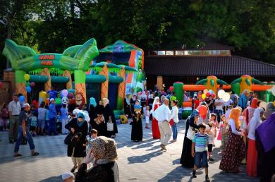 Програма Ід аль-Фітр-2017 ісламських культурних центрах Асоціації «Альраід»