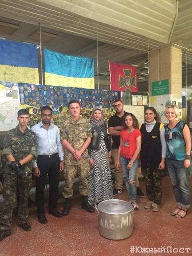 Курбан у Харкові: м'ясо для незаможних мусульман, вимушених переселенців і солдатів АТО