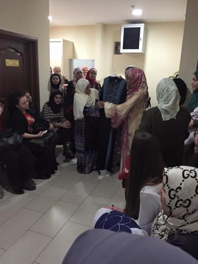 Арабский «девичник» в столице Украины