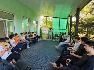 В Геническе продолжается летний интенсивный лагерь по изучению Корана