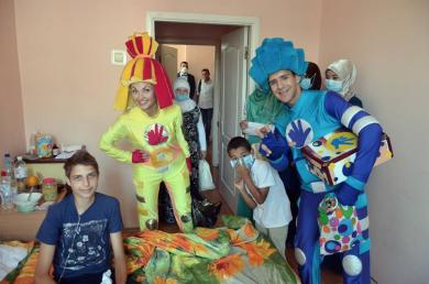 Vinnytsya Muslims Visited Little Oncology Patients On Eid-Al-Fitr