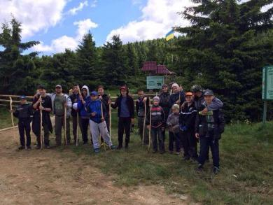 """When We Seek Our Quest, We Will Do Our Best"": Teenager Scouting Camp in Carpathians"