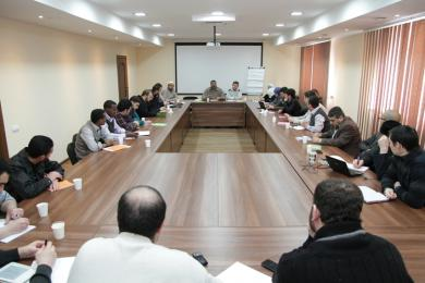 """Discussing new strategic plan at the general meeting of """"Alraid"""""""