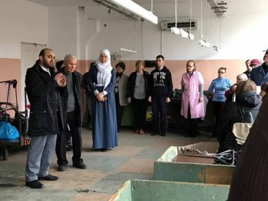 Одесские мусульмане снова в гостях у УТОС